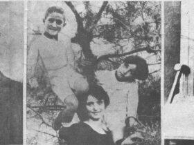 Даниэл Варужан с женой; семья Д. Варужана; Д. Варужан